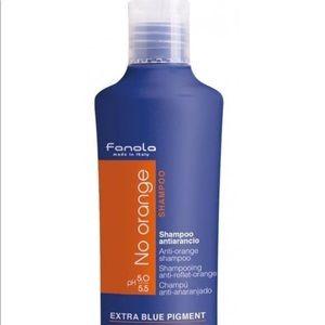 Fanola no orange shampoo.